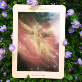 Introduction to Angel  Cards : Galgaliel – Angel of Vibration